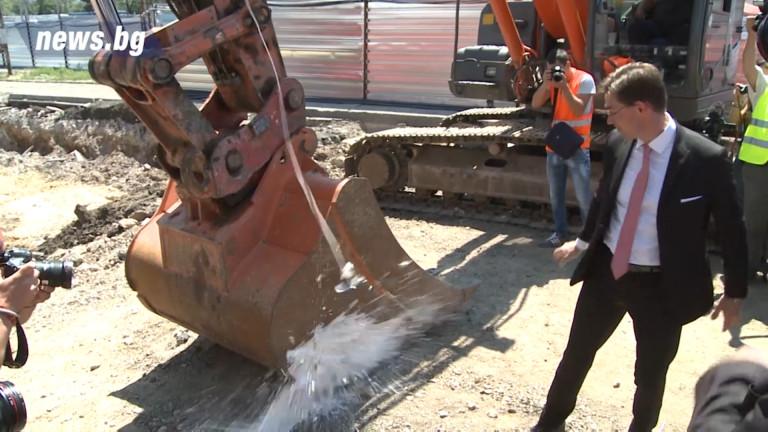 Започна вторият етап от строежа на третия лъч на столичното метро