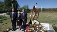 """Почетохме жертвите от кораба """"Илинден"""" с паметник в Охрид"""