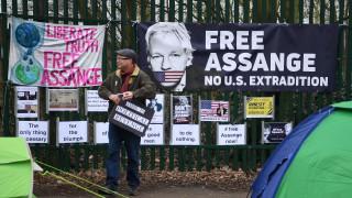 Джулиан Асанж отново в съдебна схватка в Лондон