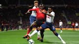 Манчестър Юнайтед - Тотнъм, 0:3 (Развой на срещата по минути)