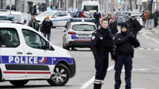 Елитни полицейски части с акция в квартал на Страсбург