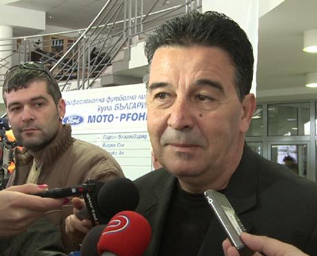 Узунов: Няма да позволя политически натиск