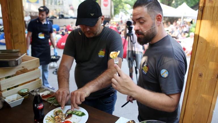 Шеф Манчев и шеф Шишков предизвикаха кулинари
