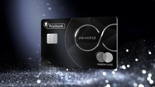 Mastercard UNIVERSE от Пощенска банка - кредитна карта от ново поколение