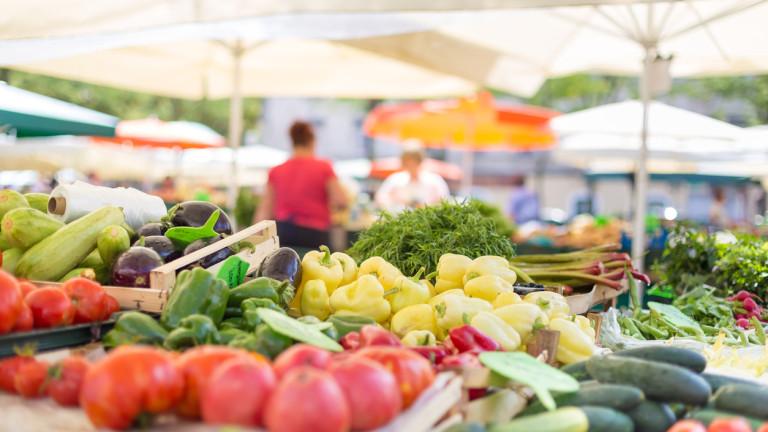 Кои са най-отглежданите плодове и зеленчуци у нас?