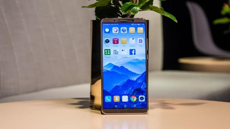 Притежателите на мобилните телефони на Huawei Technologies за първи път