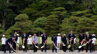 Лидерите на Г-7 посетиха най-свещеното шинтоистко място в Япония