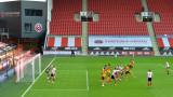 Уулвърхямптън отказа Шефилд Юнайтед за шест минути