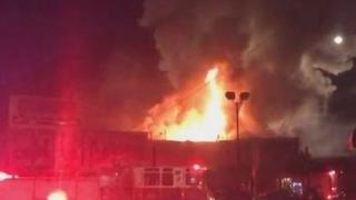 Пожарът в Бургас е засегнал и близката болница