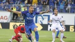 """""""Синя"""" легенда: Валери Божинов имаше място в Левски"""