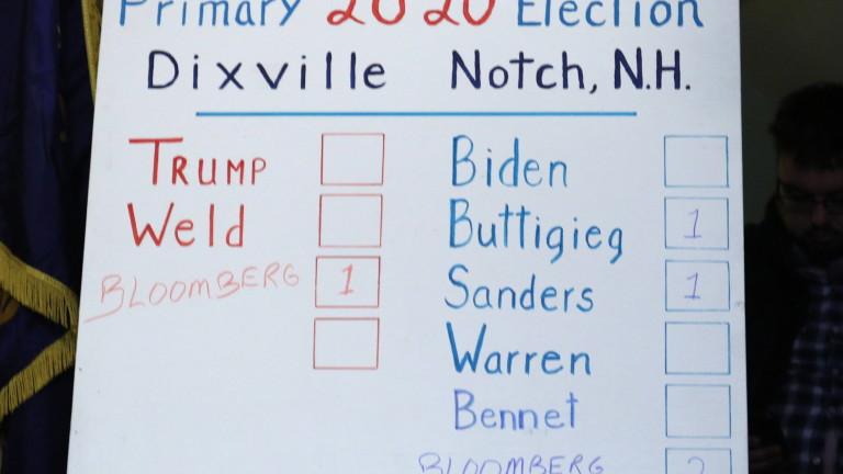 Стотици хиляди демократи гласуват на първичните избори в Ню Хемпшър