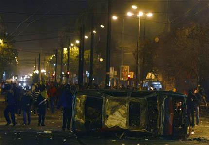 Улична война в Атина и Солун след убийство