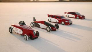 Биоетанолови Chevrolet-и с два скоростни рекорда