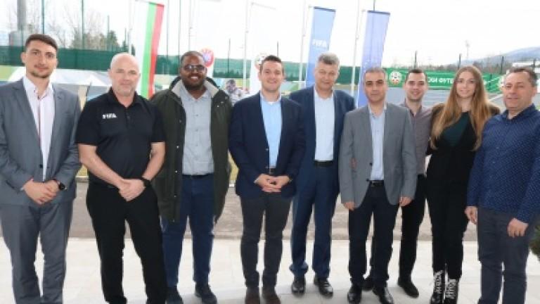 БФС направи първи стъпки към въвеждането на ВАР в България.Експерти