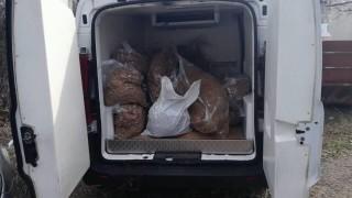 Хванаха бус с 430 кг контрабанден тютюн в Бургас