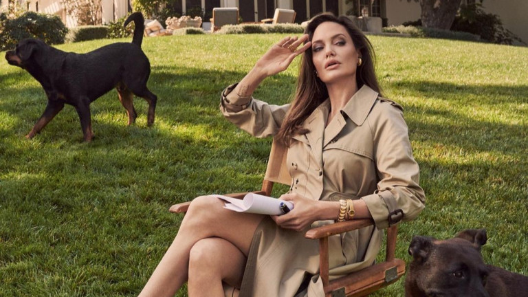 Angelina Jolie, British Vogue and what the actress revealed about her children and Brad Pitt