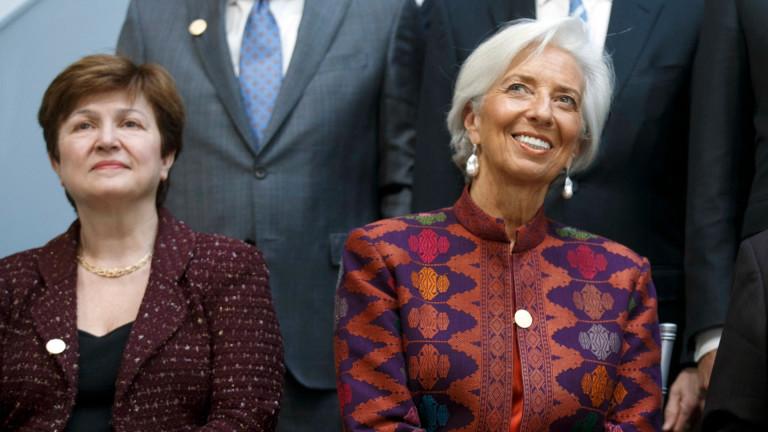 Снимка: Кристалина Георгиева благодари на Борисов и България за номинацията й за шеф на МВФ