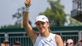 """Ига Швьонтек за първи път в кариерата си е част от четвъртия кръг на """"Уимбълдън"""""""