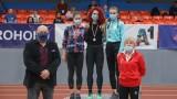 Министър Кралев награди част от шампионите в държавното първенство по лека атлетика в зала