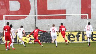 Царско село - ЦСКА 1:1, гол на Бисмарк Чарлс