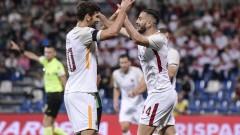 Автогол донесе успеха на Рома в последния мач за сезона