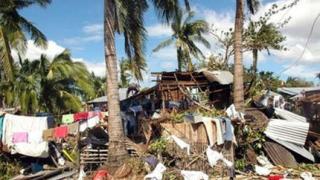 36 жертви на тайфун във Филипините