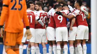 """Мечтан старт за Арсенал на 2019 година! """"Топчиите"""" разгромиха Фулъм в лондонско дерби на """"Емиратс""""!"""