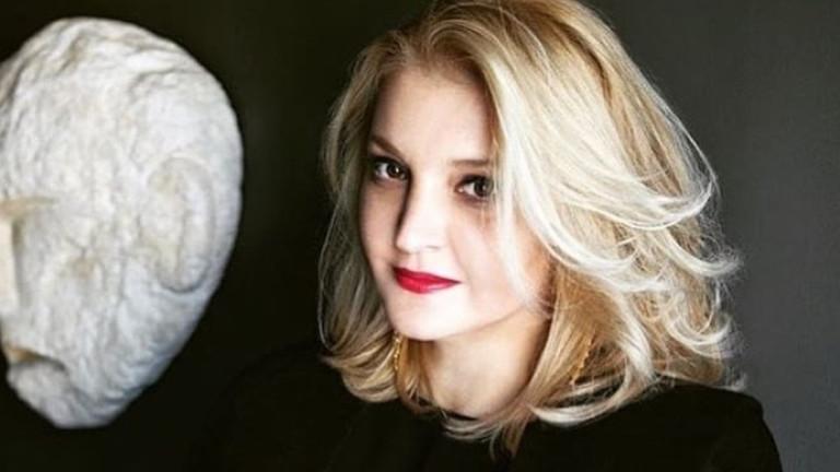 Снимка: София Кокосалаки и смъртта на дизайнерката от гръцки произход