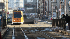 В София се запали трамвай, няма сериозно пострадали