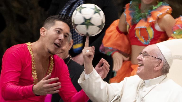 Папата: По-добре да си атеист, отколкото лицемер