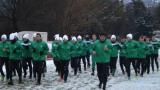 ПФК Бургас започна зимна подготовка с анцузи на Нефтохимик