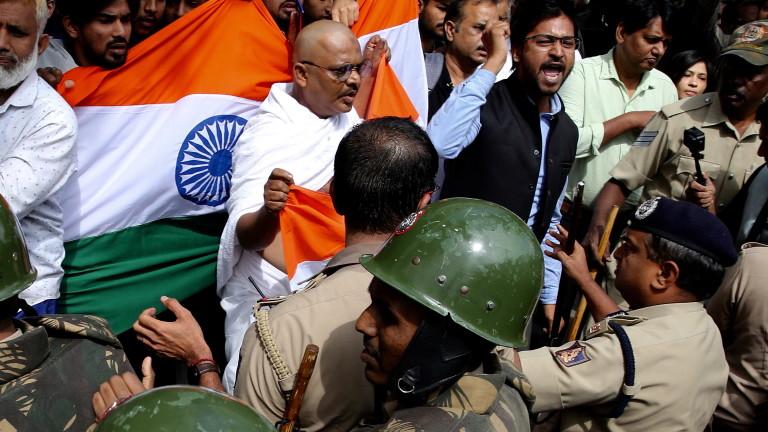 Водещият борсов индекс в Индия - NIFTY 50, се срина