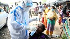Коронавирус: Индия се превърна в третата държава в света с 1 млн. заразени