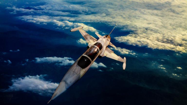 ИзтребителF-5 на бразилските ВВС се е разбил до Рио де
