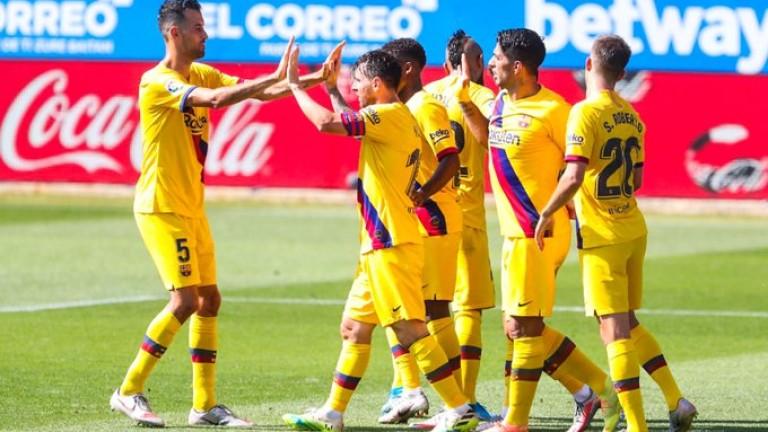 Барселона може да се раздели с шестима футболисти през август,