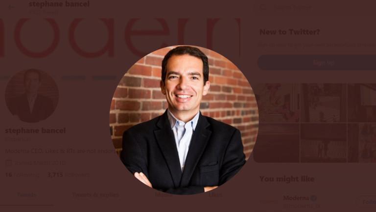 Изпълнителен директор на Moderna Therapeutics, една от компаниите, разработващи коронавирусна