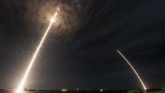 SpaceX успешно приземи ракета Falcon 9 след извеждане на японски сателит