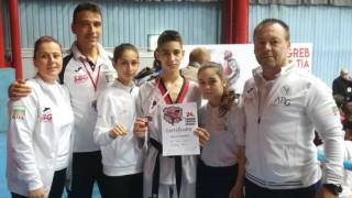 Два сребърни медала за българските таекуондисти от Croatia Open