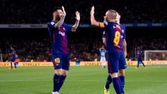 Барселона победи Малага с 2:0