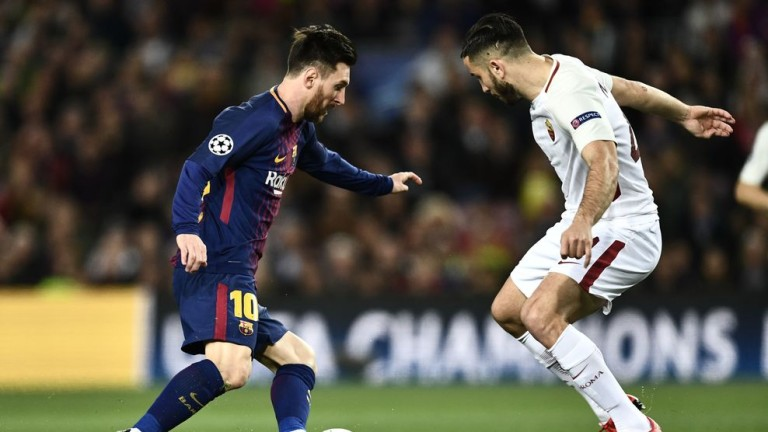 Меси не бил на себе си след елиминирането от Рома в Шампионската лига