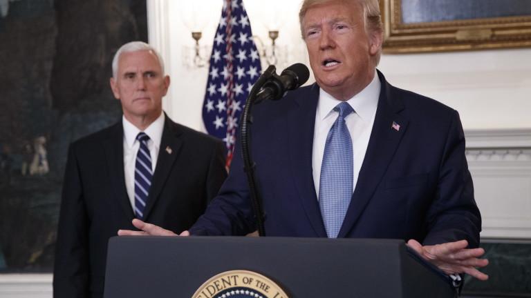 Тръмп отменя санкциите срещу Турция, обяви трайно примирие в Сирия