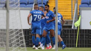 Левски - Етър 2:0, Боби Цонев пропусна дузпа