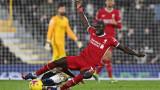 Слаб Ливърпул едва се измъкна от загуба срещу Фулъм