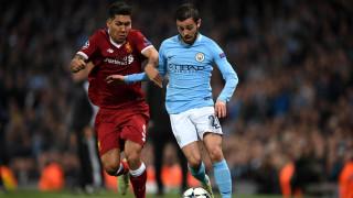 Манчестър Сити - Ливърпул 1:2 (Развой на срещата по минути)