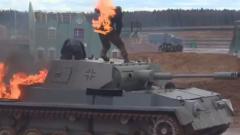 """Щурмуваха макет на Райхстага във """"военния Дисниленд"""" на Русия"""