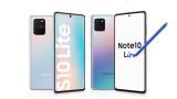 """Samsung Galaxy S10 Lite и Note 10 Lite - от """"скъпото"""" за по-малко пари"""