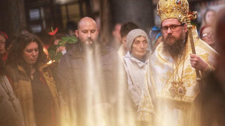Негово светейшество Патриарх Неофит отслужи празнична литургия в църквата