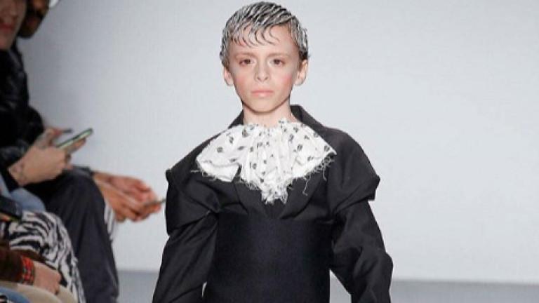 10-годишен трансджендър провокира на New York Fashion Week