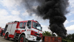 Пожар избухна в цех за месо в Плевен