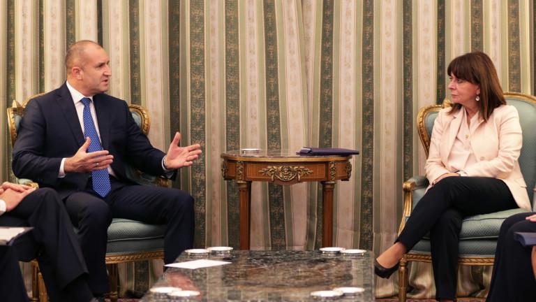 Радев: България и Гърция са пример, че на Балканите може да има мир